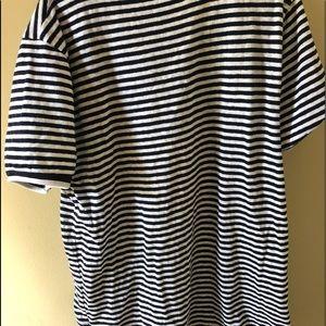 J. Crew Tops - J.crew stripped pocket tee shirt